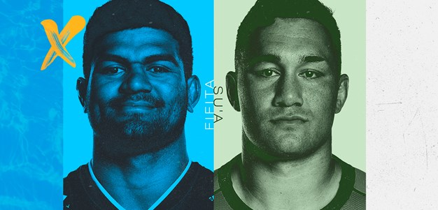 Second row front and centre, with Fifita to meet Su'a