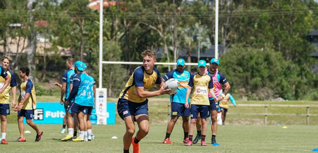 Titans JTS players receive surprise session with NRL squad
