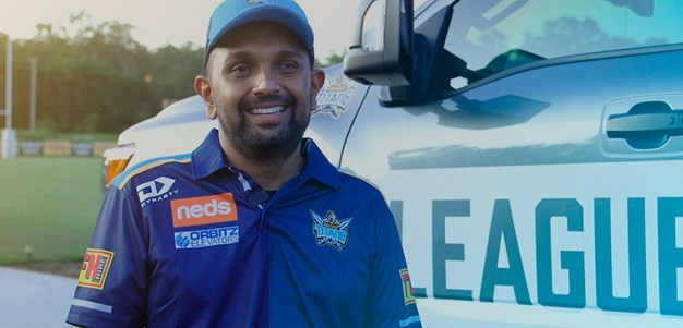 Titans recognise Australian of the Year nominee Dr Dinesh Palipana
