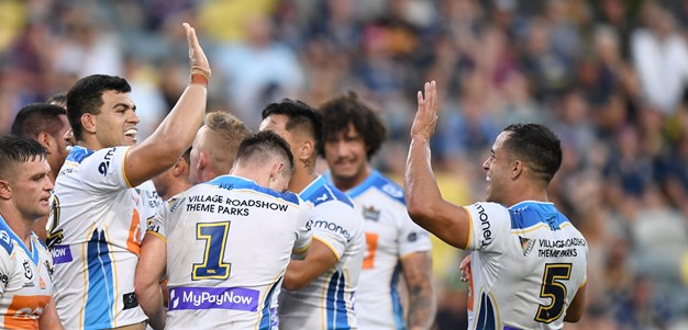 Gold Coast attack fires as Titans beat Cowboys in Queensland Derby