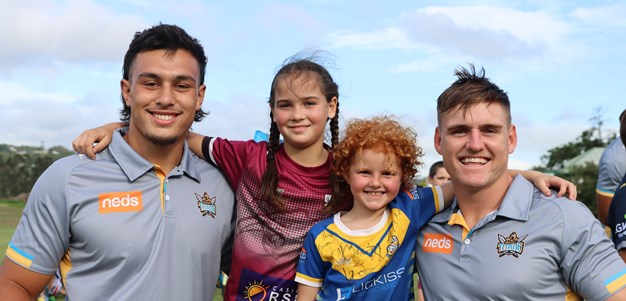 Macca's Club Ambassador program means Titans are coming to your junior club